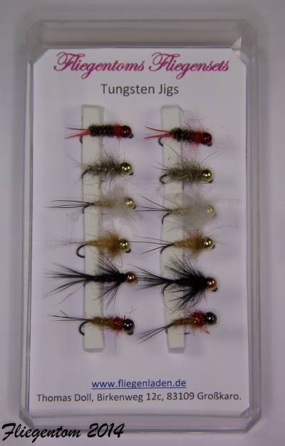 Fliegenset Tungstenjigs